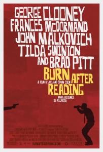 Burn after Reading Poster