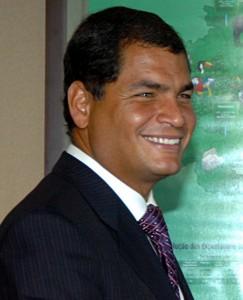 Rafael Correa, Staatschef Ecuadors
