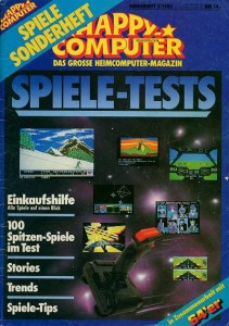 """Erstes Happy-Computer-Sonderheft """"Spiele-Tests"""""""