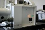 Photo-Sonics 35MM-4EL - Kamera ist an und betriebsbereit