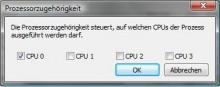 The Saboteur - 2. Schritt CPU-Kerne deaktivieren