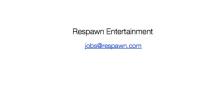 Respawn Webseite am 18. April 2010