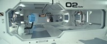 Raumstation Sarang (Sarang ist japanisch für Liebe)